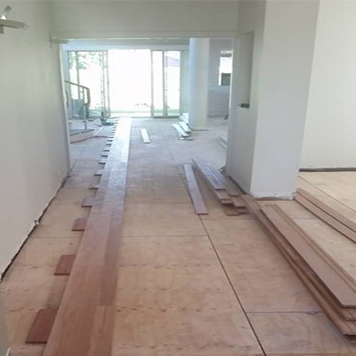 Ascot timber floor removal and replacement
