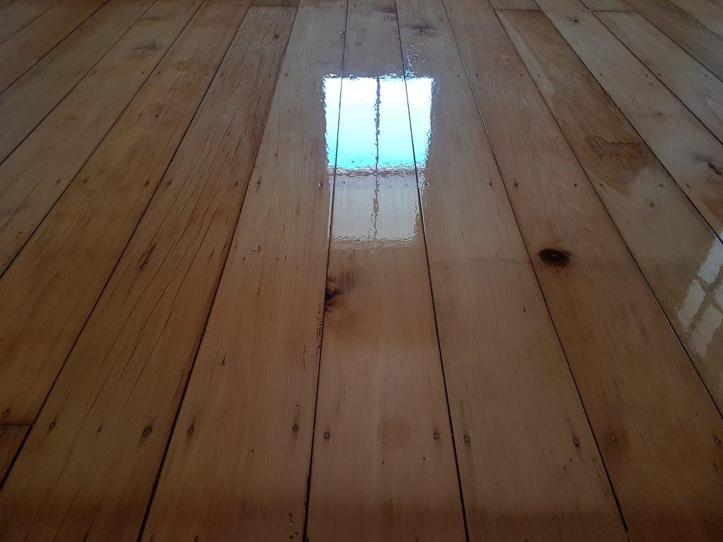 Timber floor boards hoop pine