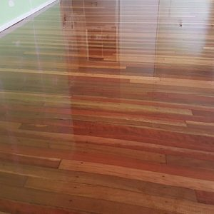 Timber floor sanding and polishing